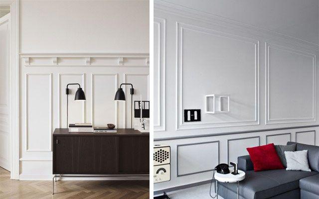 Decofilia Blog | Cómo decorar casas con molduras de pared