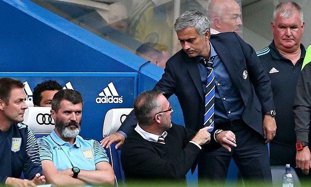 Jose Mourinho menolak untuk meminta maaf atas menawarkan jabat tangan Paul Lambert dan Roy Keane
