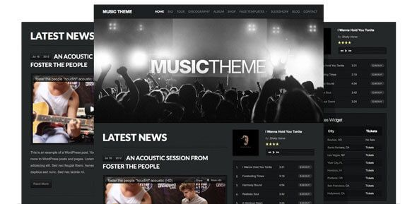 The ultimate WordPress theme for bands and musicians! Play your music. Sell your music. Sell your merchandise.. All links checked by VirusTotal.Com