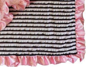 Ooh La La Light Pink Blanket from Posh Little Shop