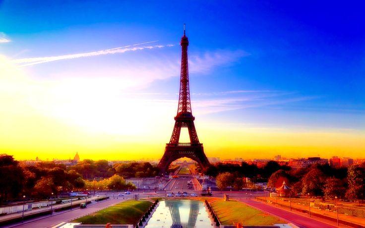 Paris, France HD Wallpaper Wide
