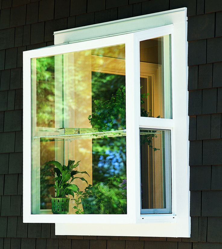 Garden Window Helps Keep A Mini Garden Healthy Year Round Designing Your Home Personalizing