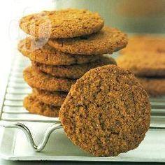 Englische Vollkornkekse (Digestive Biscuits) @ de.allrecipes.com