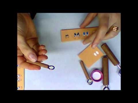 como hacer ojos y bocas con herramientas simples