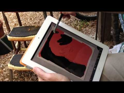 Painting a Portrait with Artrage and Sensu Brush
