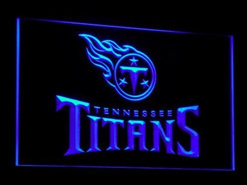 Tennessee Titans Neon Lights