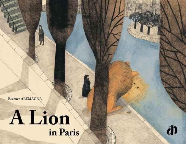 Wonderful pictures feature in this book which is inspired by the lion statue in the Place Denfert-Rochereau in Paris