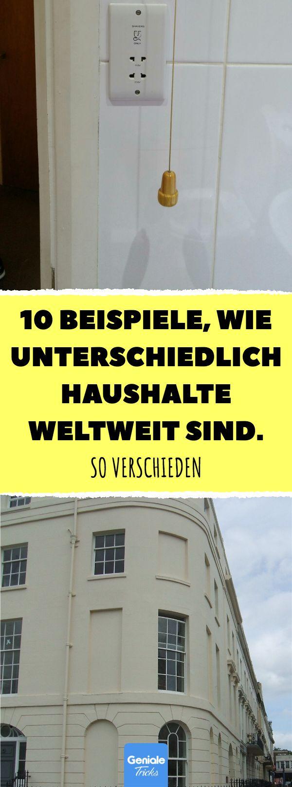 10 Beispiele, wie unterschiedlich Haushalte weltweit sind. #alltag #haushaltsgeg…
