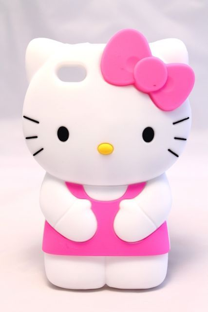 Details about Hello Kitty Soft Silicone Rubber 3D New ...
