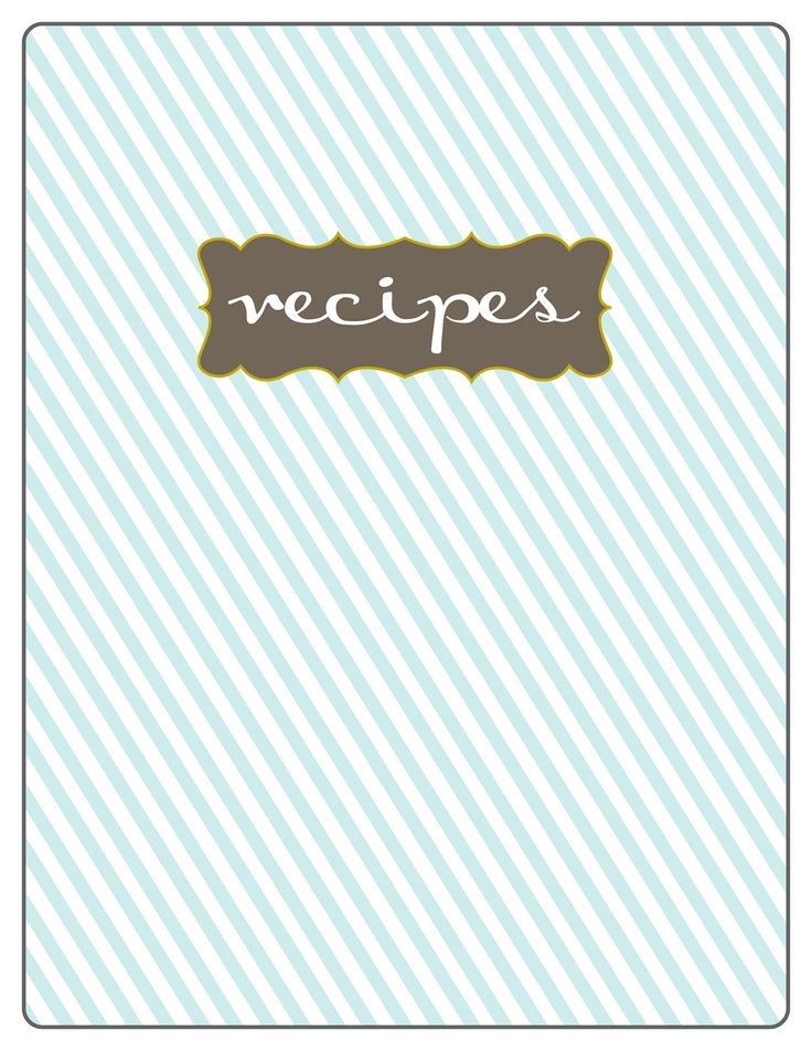 7 best recipe creator ideas images on Pinterest Printable recipe - free recipe card templates for microsoft word