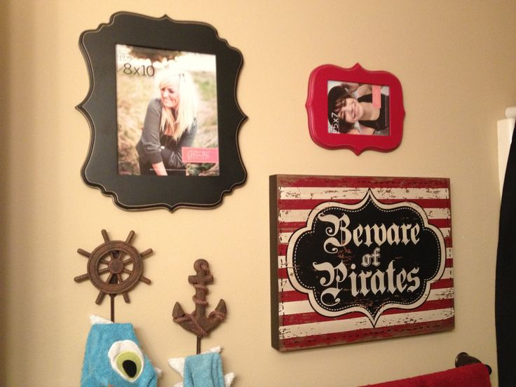 Pirate bathroom for my sons for the home pinterest for Pirate bathroom ideas