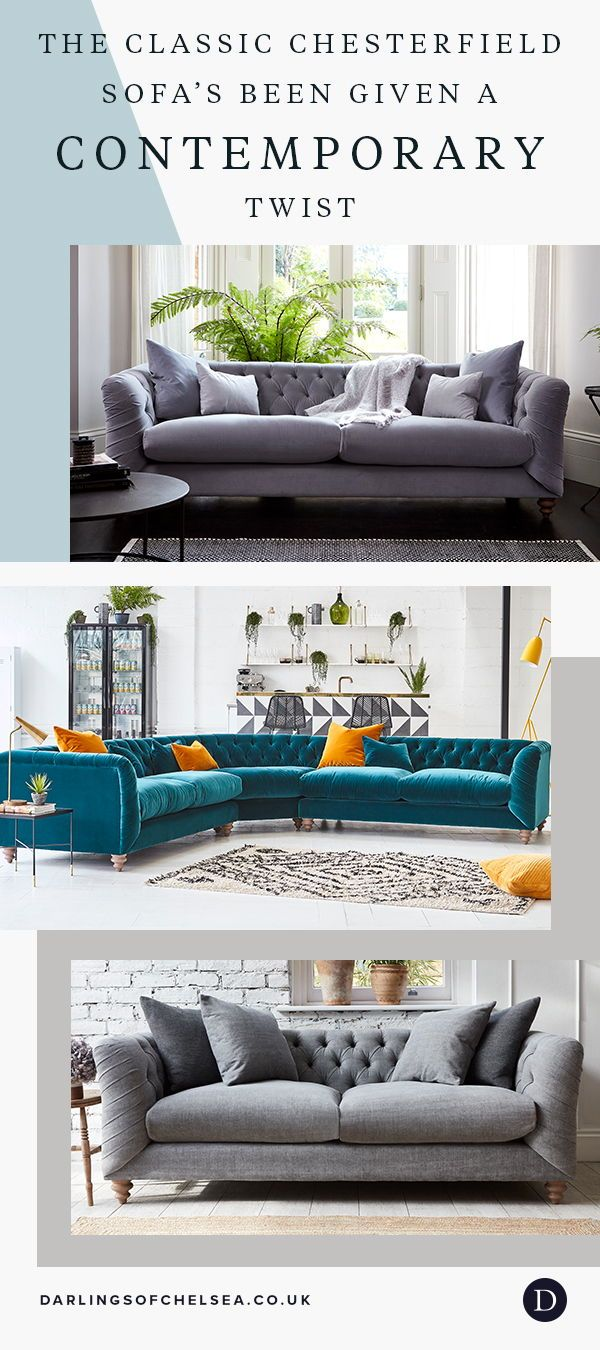 Dulwich In 2020 Classic Chesterfield Sofa Corner Sofa Living Room Comfortable Sofa