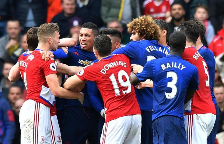 awesome Manchester United and Middlesbrough players clash in tunnel as tensions spill over after earlier bust-up between Eric Bailly and Rudy Gestede Check more at https://epeak.info/2017/03/20/manchester-united-and-middlesbrough-players-clash-in-tunnel-as-tensions-spill-over-after-earlier-bust-up-between-eric-bailly-and-rudy-gestede/