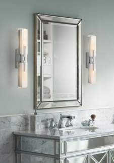 Possini Euro Design Midtown 23 12 High Chrome Bath Light In 2018