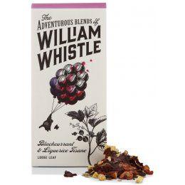 William Whistle Blackcurrent & Liquorice Tisane Loose Leaf Tea 75g