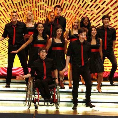 artist: the cast of glee / fave songs: yeah, right...too many!  :) :)