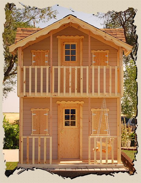 Playhouse kits, Do it yourself, Country Gal, Playhouse Plans