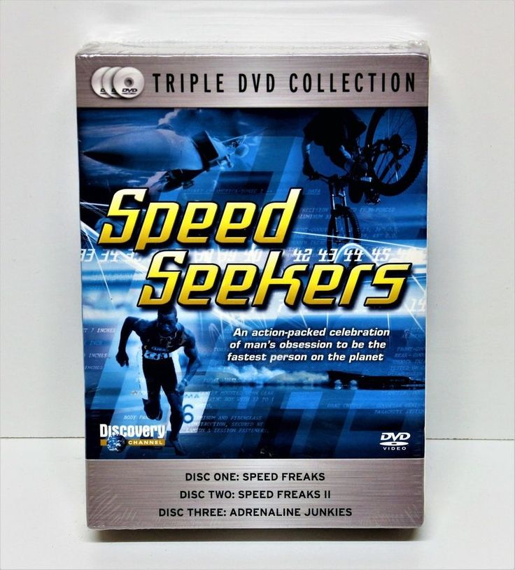 SPEED SEEKERS 3 TRIPLE DVD COLLECTION BOX SET DISCOVERY CHANNEL 5060144210791 | eBay