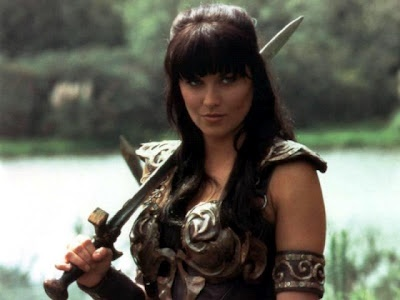 Valkyrie (Lucy Lawless as Xena)