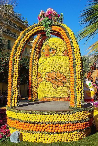 Les 112 meilleures images du tableau fete du citron menton for Jardin bioves 2015