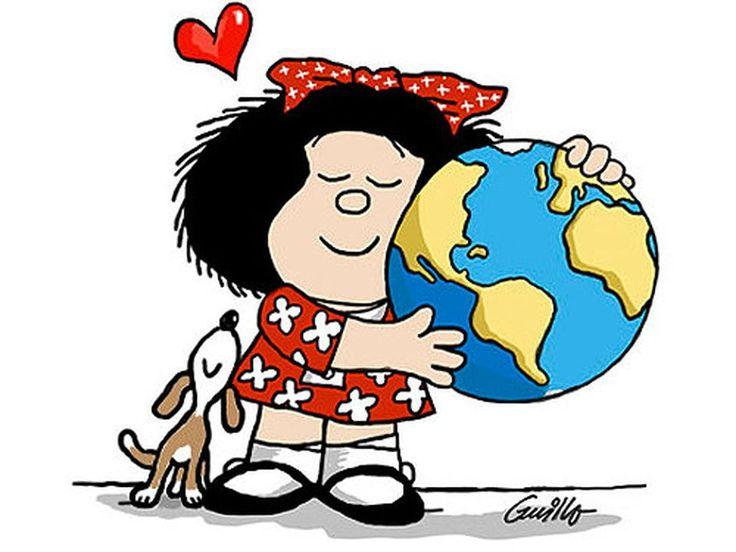 20 Frases de Mafalda que te harán pensar y reir - Taringa!