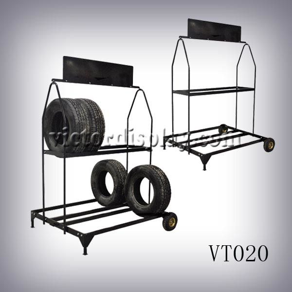 Xiamen Victor Industry & Trade Co., Ltd display provide Tire Display Products | tire rack, tire storage,tire inflation cage,tire cart,tile display stands,tile stands.