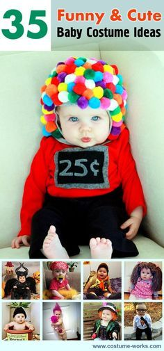 Too Cute: with all the babies being born this year these are awesome!!! 35 Cute DIY Baby Costume Ideas