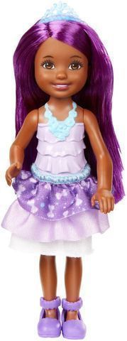 Christmas 2017 gift for our beautiful granddaughter.  Barbie Dreamtopia Rainbow Cove Sprite Doll - Purple.  I got Chelsea (Barbie's little sister) for our granddaughter to play along with her BARBIE CAMPFIRE FASHION DOLL and BARBIE DreamCamper PLAYSET we got her for Christmas, and with her Barbie POP-UP CAMPER we got her last Christmas.  She loves taking both dolls camping and swimming in her campers, and her Barbie Dreamhouse she got on her last birthday. #campercamping