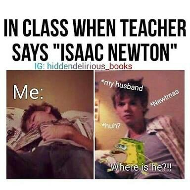 Haha this is so me any time I hear anything along the lines of Newt or thomas>> is this from left hand man?