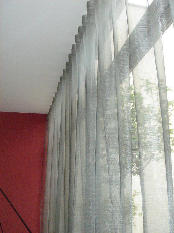rideaux waves tringles silent gliss voilage sahco wave voilage transparence rideaux. Black Bedroom Furniture Sets. Home Design Ideas