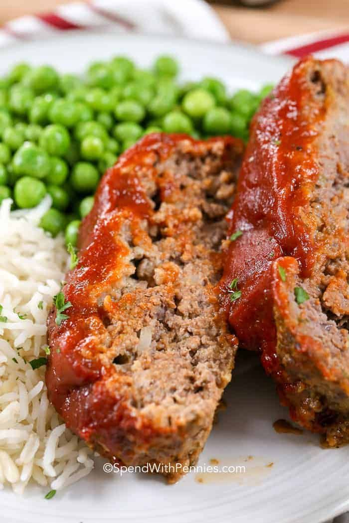 Meatloaf Is One Of My Favorite Meals This Meatloaf Recipe Is Easy To Make And Comes Out Tender And Juicy Good Meatloaf Recipe Homemade Meatloaf Best Meatloaf