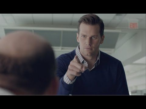 """""""Invisible Game"""" featuring Tom Brady.   This is such a sweet thing he does:)"""