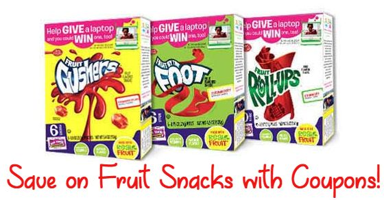 Publix: Betty Crocker Fruit Snacks Only $0.74 with Coupon