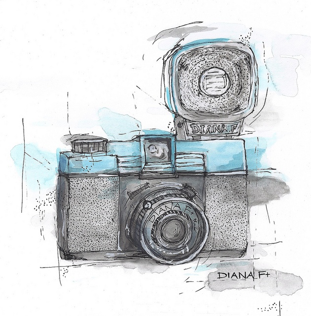 My parents actually use to have a camera just like this!!