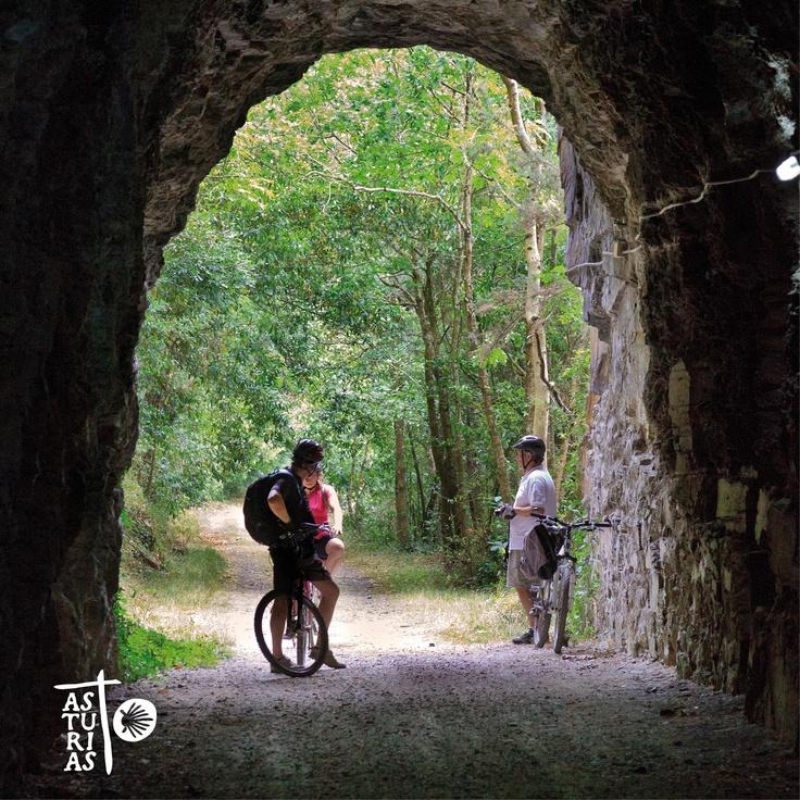 Green Way Eo (Biosphere Reserve), very near St James Way in El Llano, San Tirso de Abres (Asturias)