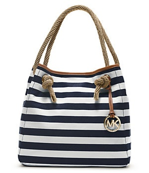 MICHAEL Michael Kors Striped Marina Grab Bag | Dillard's Mobile