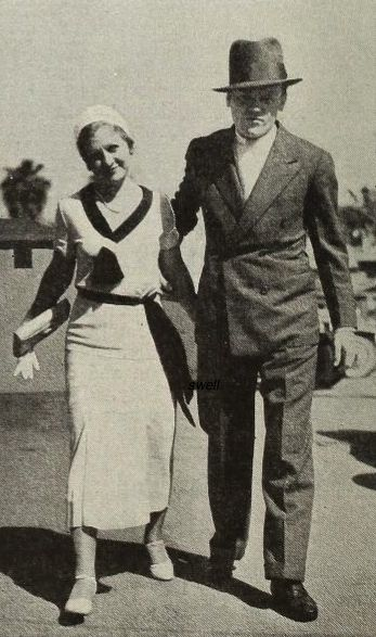 James Cagney and wife Billie in 1932