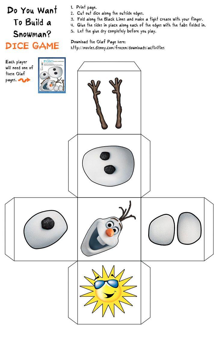 Schneemann-würfeln bzw. bauen (Olaf) wäre optimal für eine All-Turn-It-Spinner oder tobii-Würfelseite