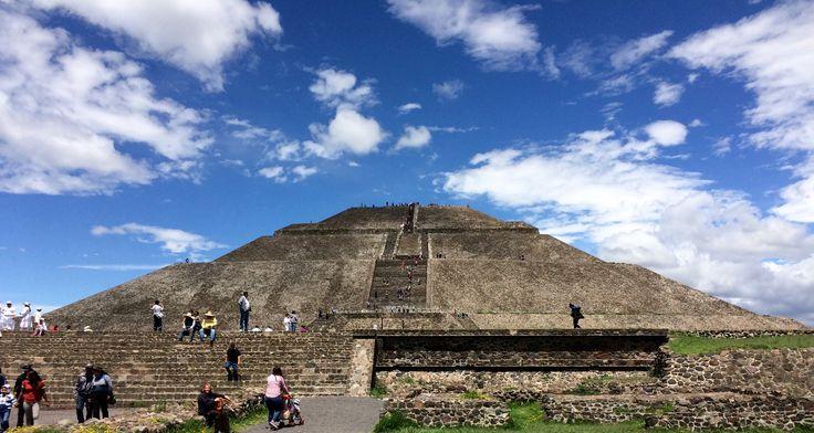 Pirámide Del Sol, Teotihuacán, MX