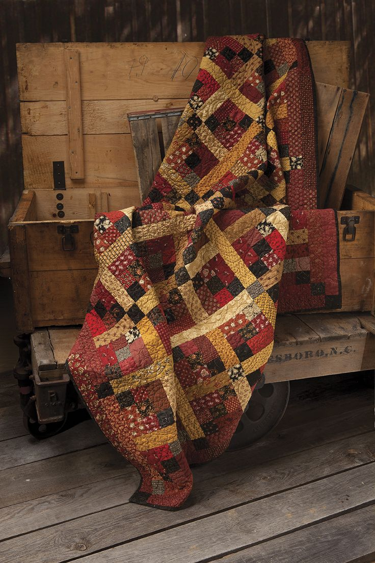 Spring 2013 Preview of Primitive Quilts and Projects magazine