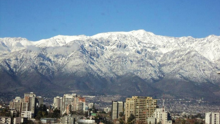 Santiago Chile, my birth country.