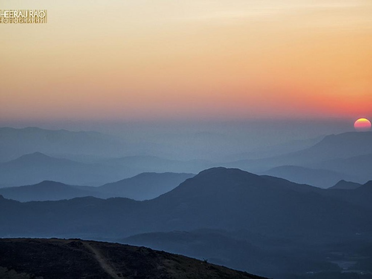 Mullayanagiri Peak, Chikmagalur - the highest peak in Karnataka, India.