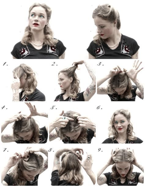 Easy 40s Hairstyles 73104 Easy 1940s Hairstyles For Long How To Hair