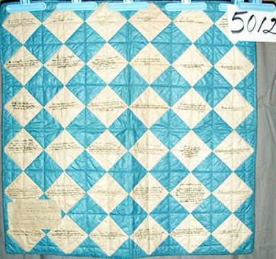 Antislavery Fair Crib Quilt by Mary Lincoln Cabot