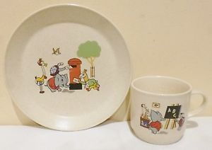 johnson of australia child plate - Google Search