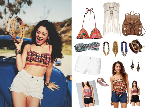 """""""Tribal style"""" by festivalmode ❤ liked on Polyvore"""