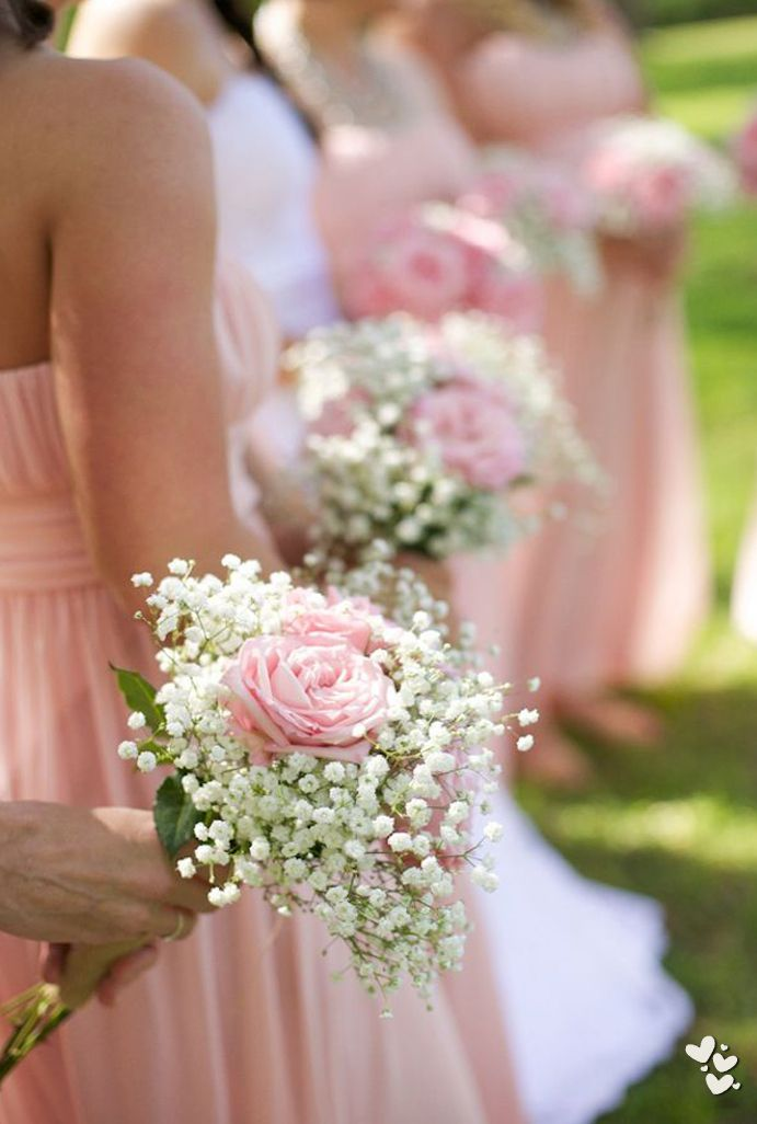 ❤ ❤ ❤ first ceremony. i really like the idea of simply baby's breath- For more amazing finds and inspiration visit us at http://www.brides-book.com and join the VIB Ciub