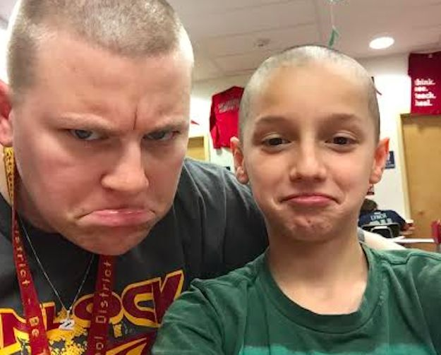 """""""This Teacher Let Her Student Shave Her Head After He Was Bullied For His Buzz Cut"""" - Buzzfeed....This makes me proud to be a teacher :) Props to this teacher for standing up to bullying! """"If he makes fun of you, then he's making fun of me too."""""""