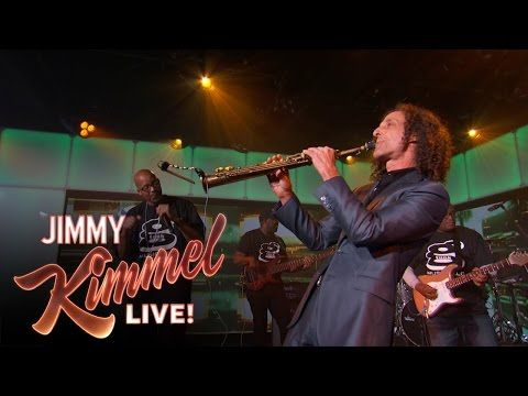 "Jimmy Kimmel Live: #MashUpMonday - Kenny G and Warren G team up to perform ""Regulate."