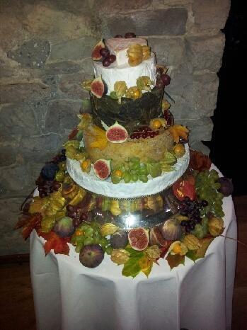 Cheese Wedding Cake  www.spiros.co.uk